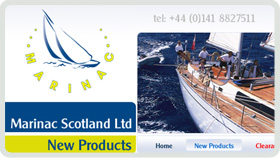 Website Design - Marinac Scotland