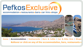 Website Design - Pefkos Exclusive