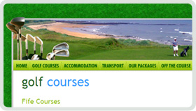 Website Design - Golf Fife
