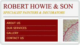 Website Design - Robert Howie and Sons