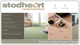 Website Design - Stodheart Carpets