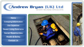 Website Design - Andrew Bryan