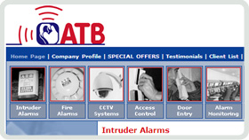 Website Design - ATB Security