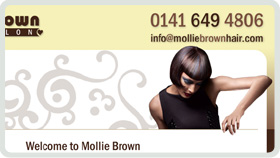 Website Design - Mollie Brown Hair Salon