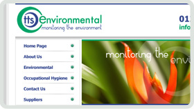Website Design - TTS Environmental