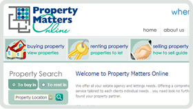 Website Design - Property Matters