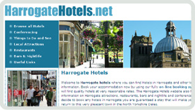 Website Design - Harrogate Hotels