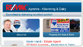 Website Design - Remax Kilwinning