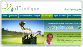 Website Design - Golf Southport