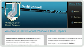Website Design - David Connell Window & Door Repairs