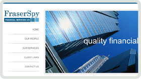 Website Design - Fraser Spy Independent Financial Advisers