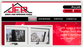 Website Design - JFR Joinery - Ayrshire