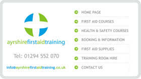 Website Design - Ayrshire First Aid Training