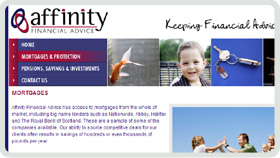 Website Design - Affinity Financial Advice