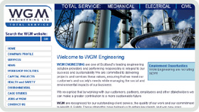 Website Design - WGM Engineering